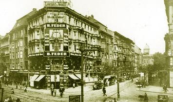 Damals am Rosenthaler Platz